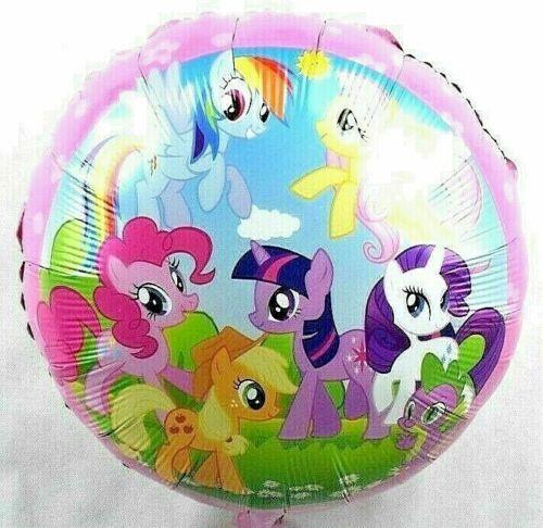 R36F24 Helium Folienballon Regenbogen My little Pony Magie Pferd Geburtstag Deko