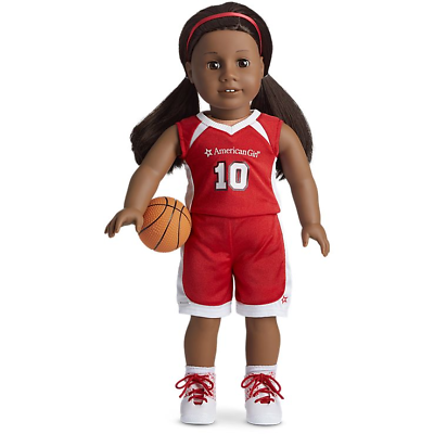 AMERICAN GIRL TRULY ME SHOOTING STAR BASKETBALL OUTFIT 4 DOLLS NIB BLAIRE JULIE
