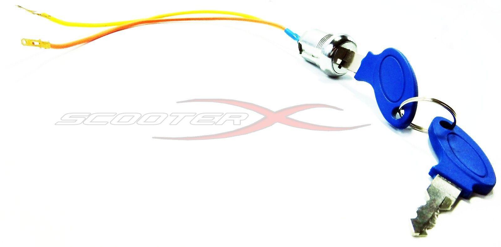 IGNITION SWITCH & Key Super Mini Rocket Pocket Bike Quad Chopper X18 X15  33cc
