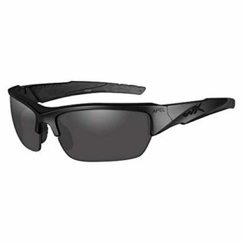 Wiley X CH4701 Grey//Clear Valor APEL Safety Glasses w//Black Frame /& Storage Case