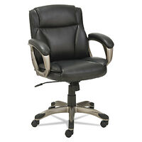 Alera Veon Series Low-back Leather Task Chair W/coil Spring Cushioning, Black on sale