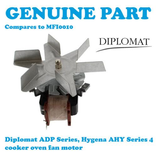 Diplomat AHY4310 AHY4320 AHY4401 AHY4410 AHY4420 Motor De Ventilador De Horno De Cocina ofanmtrb