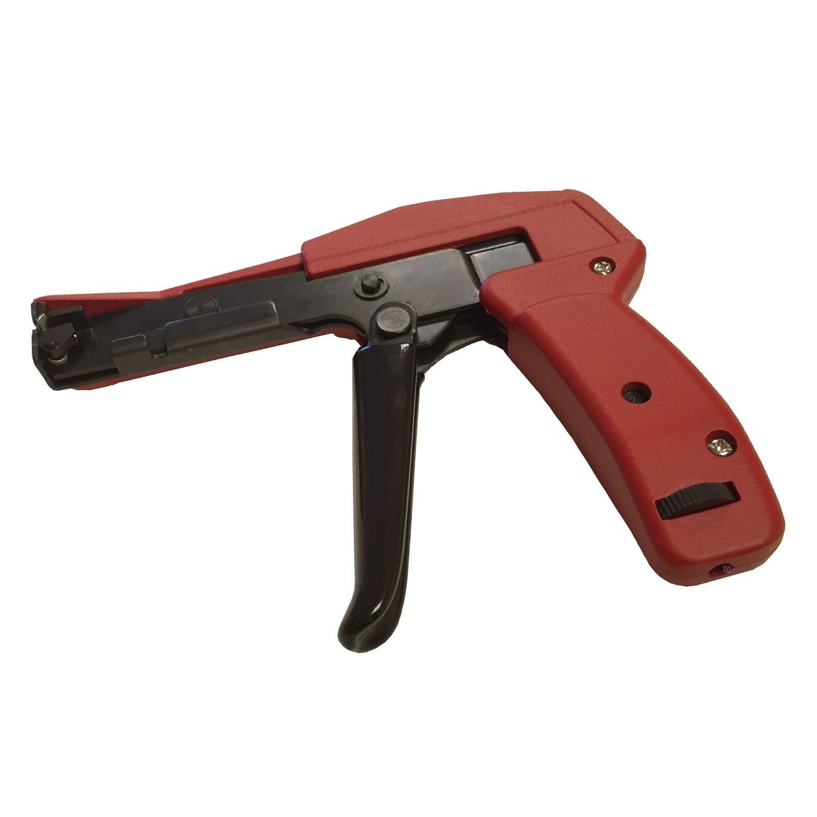 Heavy Duty Cable Tie Gun Tensioner & Cutter Tool for 2.4 - 4.8mm Nylon Zip Ties
