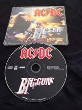 AC/DC BIG GUN CD  - PROMO SAMPLE  - ALBERT PRODUCTIONS AUSTRALIA SONY 659438 2