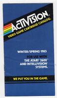 Activision Video Game Cartridge Catalog - Winter/spring, 1983