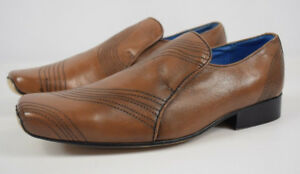 Uk Taylor 8 Reece Men's Shoes Size Tan Leather And B0ndq