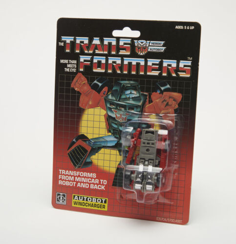Transformers G1 Autobot WINDCHARGER Minibot Action Figure Gift Christmas Hot New
