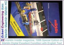 EE märklin Insider magazine on Digital in English 1998 in Excellent Condition