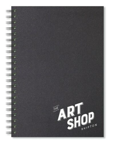 40 Sheets The Art Shop Skipton Wire-bound 150gsm Cartridge Paper Sketchbook A4