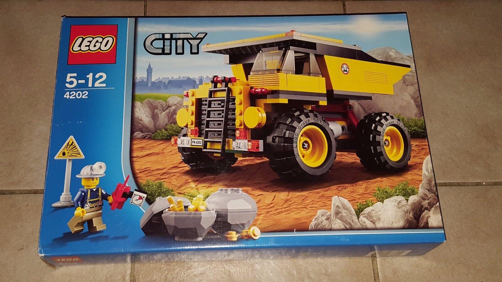 LEGO City - 4202 - Muldenkipper mit Anleitung & OVP  100% komplett
