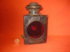"""Rare Antique Carriage / Automobile Lantern """" SUMMA BONDON & VALLOT"""