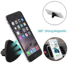Universal Magnetic Car Air Vent Mount Phone Holder Black