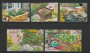 Australia-2019-Stamp-Collecting-Month-In-the-Garden-Design-Set-MNH