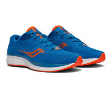 Saucony Mens Jazz 21 Running Shoe Blue Orange Sports Breathable Lightweight