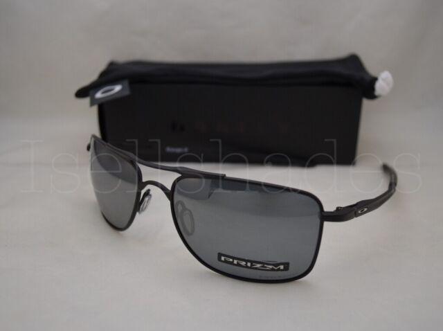 Oakley Gauge 8 >> Sunglasses Oakley Gauge 8 4124 02 57 Matte Black Prizm Polarized