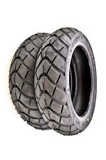 Kenda K761 Dual Purpose Scooter Front/Rear Tires (2 Tires) 120/70-12 TL (4 Ply)