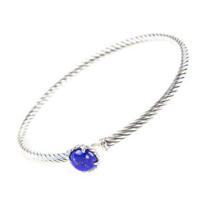 DAVID-YURMAN-Women-039-s-Chatelaine-Bracelet-with-Lapis-Lazuli-3mm-350-NEW
