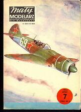 Mały Modelarz 1983/07 Radziecki samolot myśliwski Ła-7