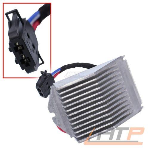Ventilatore REGOLATORE Resistenza Riscaldamento Ventilatore per VW Polo 6r 9n