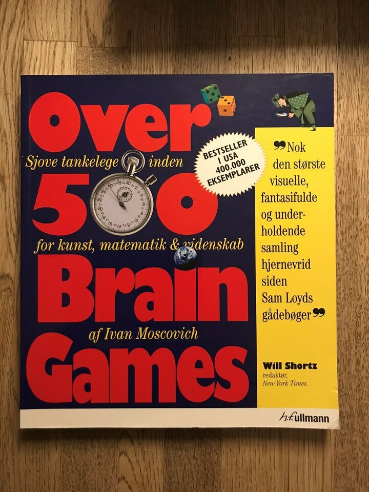 Over 500 Brain Games, Ivan Moscovich, emne: personlig