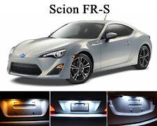 Xenon White License Plate / Tag 168 LED light bulbs for Scion FRS FR-S (2Pcs)