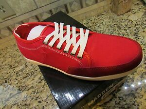 Mens Shoes Red Madden 10 Free Toledo Sneaker Nuovo Shoes Ship Steve w5xY0qxt6