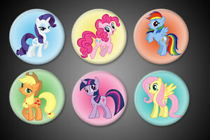 My-Little-Pony-Pins-Pinback-Rainbow-Dash-Twilight-Sparkle-Pinkie-Pie-Collection