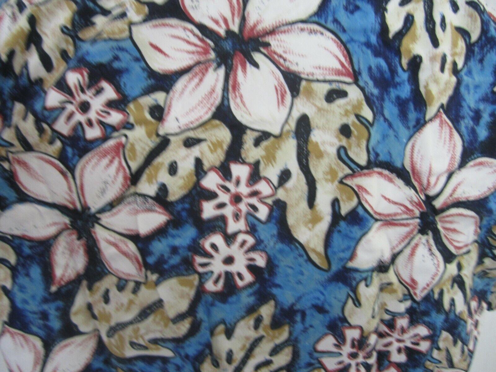 Sun Country Men Hawaiian ALOHA shirt p20p 204 L slim fl…   Gem
