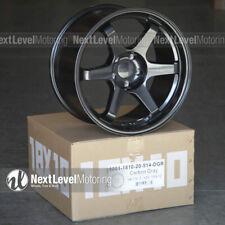 9six9 18x10 5x1143 20 Carbon Gray Te37 Style Wheels Fits Infiniti G35 Jdm