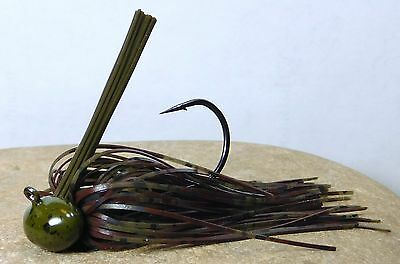 Bob4Bass Pro Skirted Weedless Football Jig Cumberland Craw B4B027