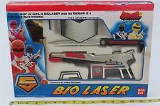 1987 BANDAI - PRE-POWER RANGERS - BIOMAN 2 - MASK MAN - SUPER RARE - BIO LASER