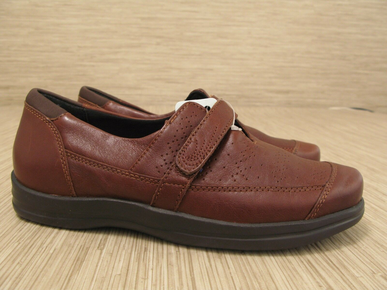 Apex Petals Braun 9 Leder Schuhes Damenschuhe US 9 Braun M EUR 41 Strap Slip-Resistant Server 4ff1ba