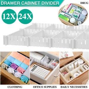 12-24X-Adjustable-Clapboard-Drawer-Cabinet-Divider-DIY-Storage-Organiser