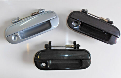 ANTHRACITE GREEN ROVER 600 Driver side front door handle O//S 93-99 in SILVER