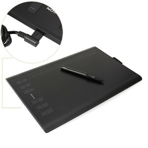 Huion-NEW-1060-PLUS-Graphique-Stylo-Dessin-Tablette-12-Touches-De-Raccourci-8Go