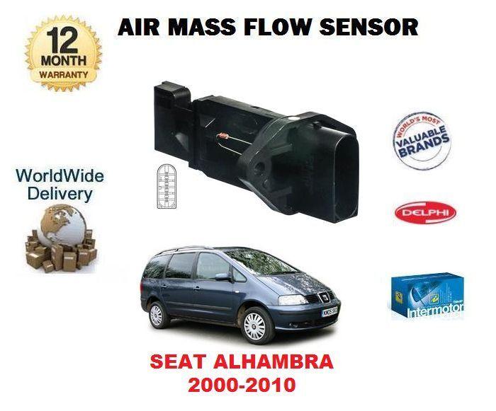 Für Sitz Alhambra 2.8 V6 4motion MPV 2000-2010 Neu Luftmassenmesser