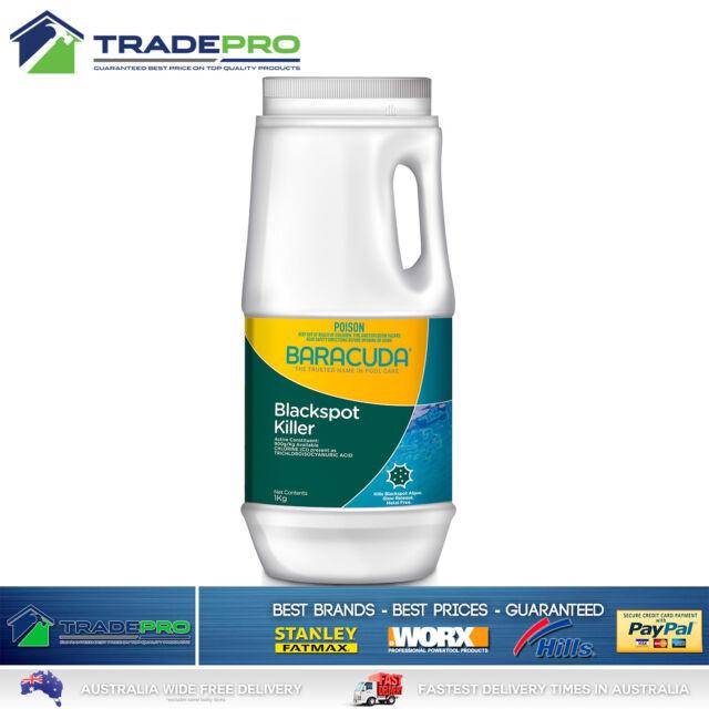 Pool Blackspot Algaecide Remover 1Kg Baracuda Concentrated Granular Algae Killer
