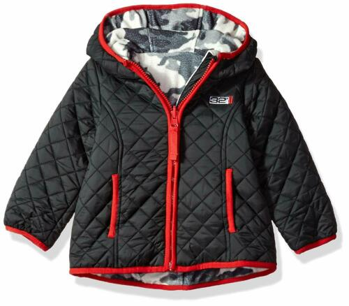Weatherproof Baby Boys/' Outerwear Jacket Reversible Black 24 M