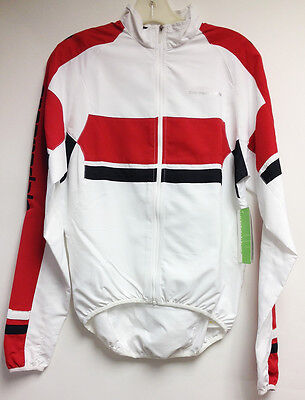 CANNONDALE Team Wind CYCLING JACKET in white and red