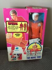 "Vintage Kenner 1973 Six Million Dollar Man ""BIONIC MAN"" Test Flight Suit  RARE!!"