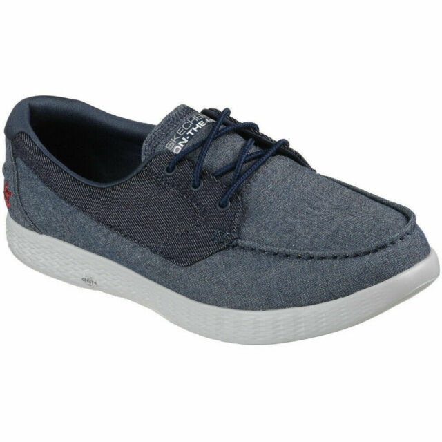 skechers on the go atlantic mens boat shoes
