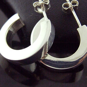 FS132-GENUINE-HALLMARKED-REAL-925-STERLING-SILVER-LADIES-STUD-HOOP-EARRINGS