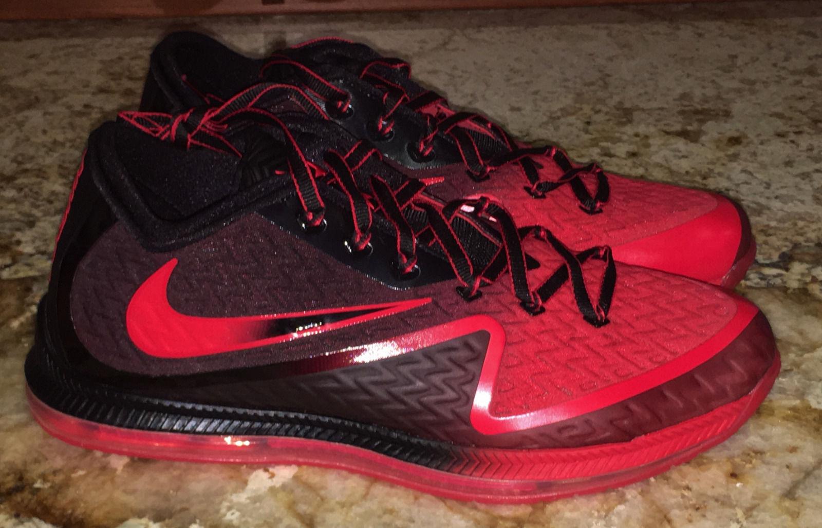 NIKE Field General 2 Football Red Black QB Training shoes NEW Mens Sz 10 13