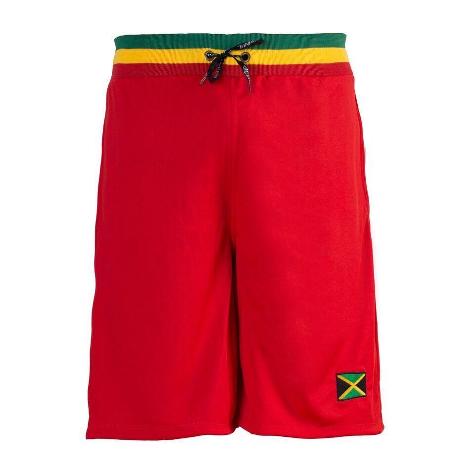 Reggae Jamaica Bandera Rojo Hombre Holgado Gym SPORTS Baloncesto Boxeo Bermudas