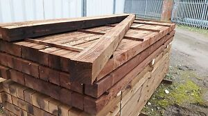 4x4 8ft Fence post 100mmx100mm 2400mm long Gate Post Wood Timber - Sandy, United Kingdom - 4x4 8ft Fence post 100mmx100mm 2400mm long Gate Post Wood Timber - Sandy, United Kingdom