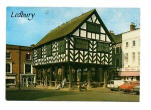 Herefordshire-Ledbury-The-Market-Hall-Postcard-Franked-1991