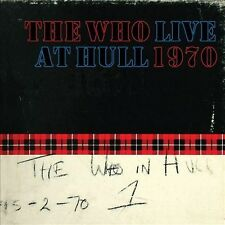 THE WHO - LIVE AT HULL 1970 - 2 CD NUOVO