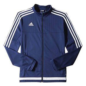 Details about adidas Women's Soccer Tiro 15 Training Jacket Navy