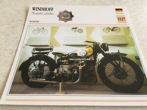Stecker-Motorrad-Sammlung-Atlas-Motorrad-Wind-750-4-Zylinder-1927