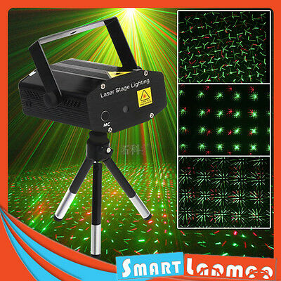 Mini Stage Laser Party Light Disco Club DJ KTV Strobe Lighting AU Stock